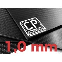 1,0 mm Platte aus Carbon