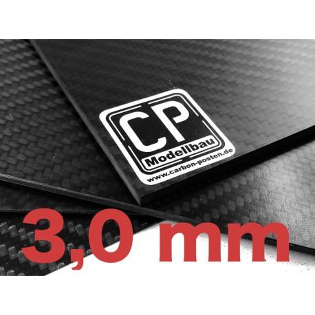 3,0 mm Carbon-Platte