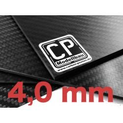 4,0 mm Carbon-Platte