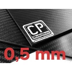 0,5 mm Carbon-Platte