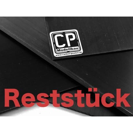 3,0 mm Carbon-Platte 350x150 mm Reststück