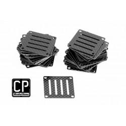 Schutzplatte aus Carbon für FC´s 36x36mm