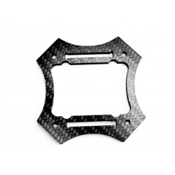 2mm Carbon Hauptplatte (unten)